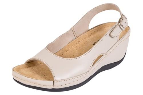 a87afcf25bb5f Obuwie zdrowotne sandały Buxa ANATOMIC BZ330 beżowy - Sklep Buxa