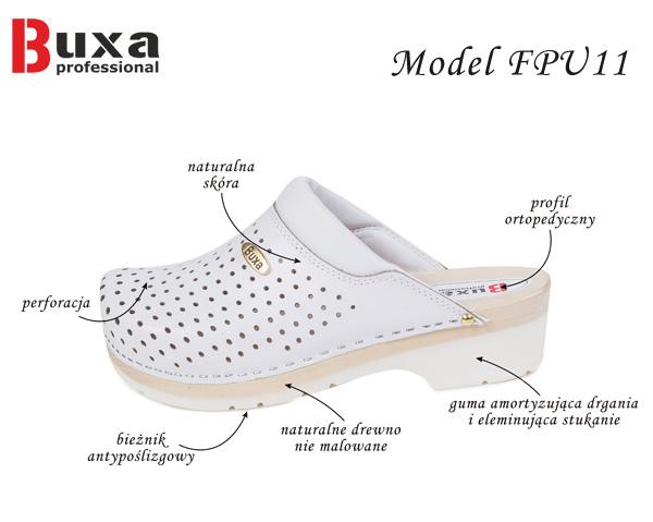 drewniaki medyczne fpu11 buxa