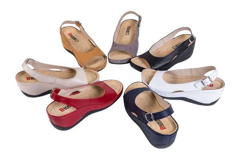 595d8e273aafb Obuwie zdrowotne sandały Buxa ANATOMIC BZ330 beżowy. Wysyłka w: 1-3 dni