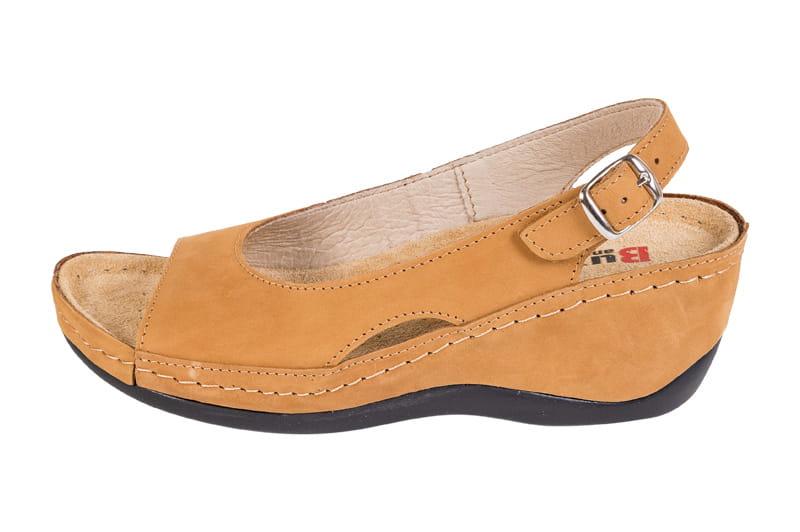 f9f5291b8877c Obuwie zdrowotne sandały Buxa ANATOMIC BZ330 miodowy - Sklep Buxa